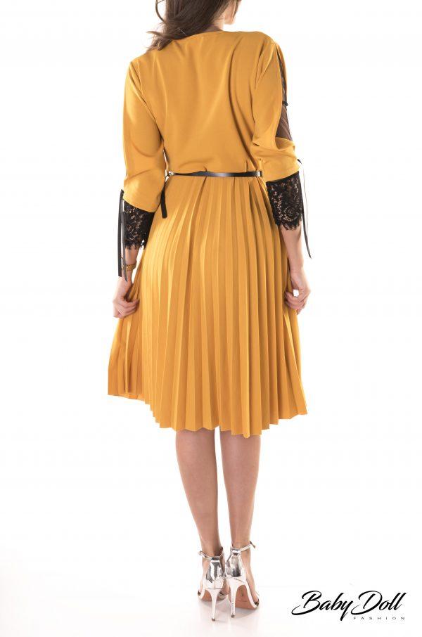 rochie plisata