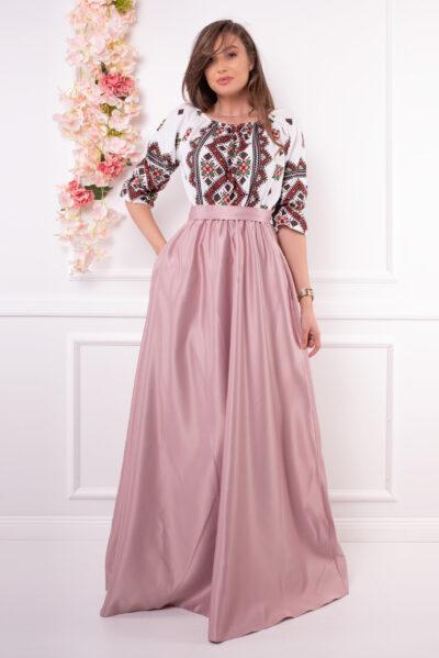 rochie cu motive traditionale